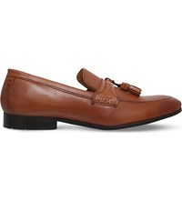 Kg By Kurt Geiger Roma Leather Loafers Tan