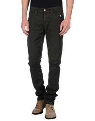 Dog Fox Trousers Casual Trousers Men Dark Green