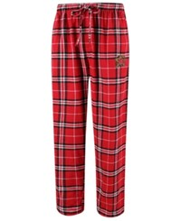 Concepts Sport Men's Maryland Terrapins Huddle Flannel Pants Red