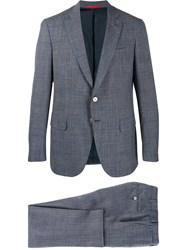Isaia Check Two Piece Suit 60