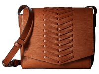 French Connection Emory Crossbody Flap Nutmeg Cross Body Handbags Brown