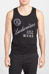 Junk Food 'Budweiser King Of Bottled Beer' Graphic Tank Gray