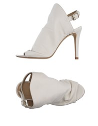 Giampaolo Viozzi Sandals Ivory