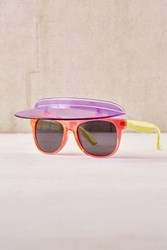 Urban Outfitters Colorblock Visor Shades Multi