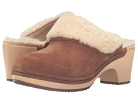 Crocs Sarah Luxe Lined Clog Hazelnut Women's Clog Shoes Brown