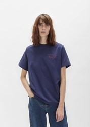 Martine Rose Short Sleeve Classic Tee Navy W Red