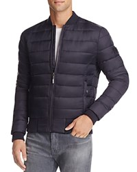 Superdry Fuji Quilted Bomber Jacket Ink