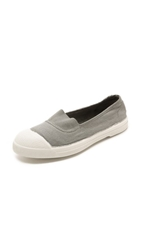 Bensimon Tennis Elastique Sneakers Pearl Grey