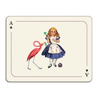 Avenida Home Louise Kirk Alice In Wonderland Table Mat Alice