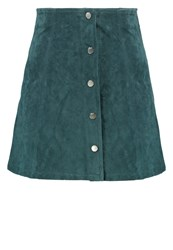 Only Petite Onlveronica Aline Skirt Scarab Dark Green