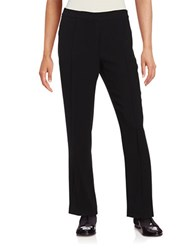 Elie Tahari Straight Leg Dress Pants Black