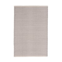 Dash And Albert Herringbone Rug Dove Grey 61 X 91 Cm