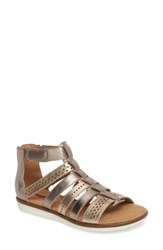 Clarks Kele Lotus Sandal Beige Leather