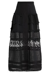 Miss Selfridge Maxi Skirt Black
