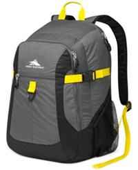 High Sierra Sportour Laptop Backpack Grey Mercury