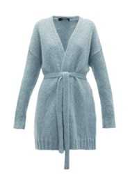 Max Mara Weekend Omero Cardigan Light Blue