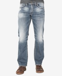 Silver Jeans Co. Men's Grayson Big And Tall Straight Boot Cut Indigo