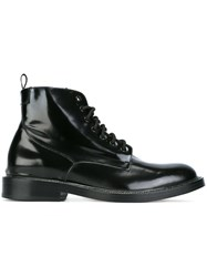 Marc Jacobs Military Boots Black