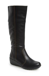 Women's Softspots 'Carla' Boot Black Leather