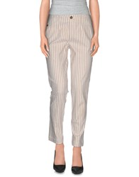 Manila Grace Denim Trousers Casual Trousers Women Ivory