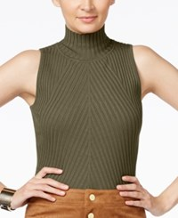 Inc International Concepts Petite Mock Neck Sleeveless Top Only At Macy's