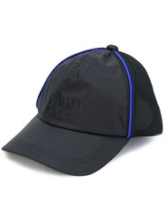 Armani Jeans Embroidered Baseball Cap Polyester Black