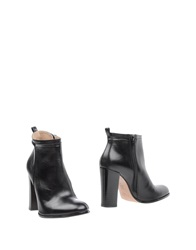 Hoss Intropia Ankle Boots Black