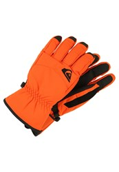 Quiksilver Cross Gloves Flame Orange
