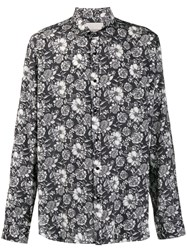 Laneus Floral Long Sleeve Shirt 60
