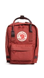 Fjall Raven Fjallraven Kanken Mini Backpack Deep Red Random Blocked