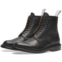 Grenson X Neighborhood Triple Welt Charles Black