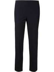 Brunello Cucinelli Short Straight Leg Trousers Blue