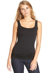 Junior Women's Bp. Double Scoop Tank New Black