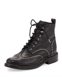 Rag And Bone Cozen Studded Leather Boot Black