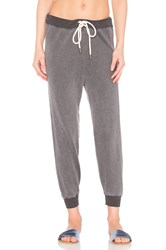 The Great Cropped Sweat Pant Gray