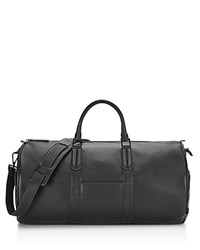 Uri Minkoff Pebbled Leather New Duffle Bag Black