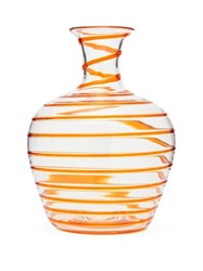 Yali Glass A Filo Large Carafe Orange