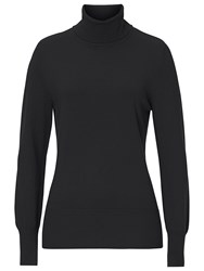 Betty Barclay Polo Neck Jumper Black