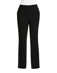 Vince Camuto Cropped Dress Pants Rich Black