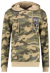 Only And Sons Onsfaba Hoodie Olive Night