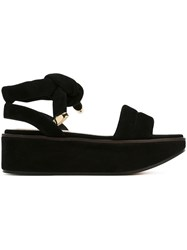 Nicholas Kirkwood 50Mm 'Ziggy' Flatform Sandals Black