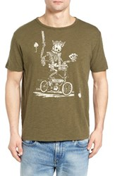 Lucky Brand Men's Skull King Graphic T Shirt