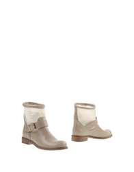 Innue' Ankle Boots Sand