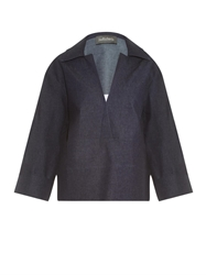 Joe Richards Galicia Chambray Top