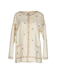 Hoss Intropia Coats And Jackets Jackets Women Ivory
