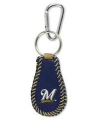 Game Wear Milwaukee Brewers Keychain Navy