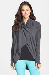 Women's Zella 'Studio' Draped Wrap Top