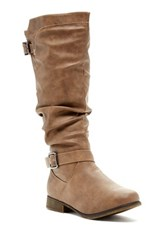 Top Guy Smart Slouchy Boot Brown
