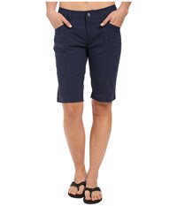 Royal Robbins Discovery Bermuda Deep Blue Women's Shorts