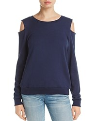 Nation Ltd. Ltd Drew Cold Shoulder Pullover Navy